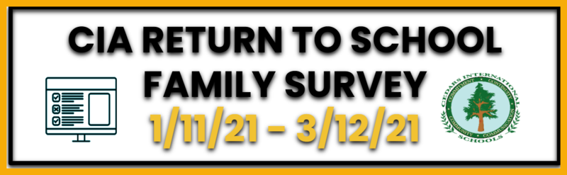 Return to Campus Family Survey for the 3rd Quarter Featured Photo