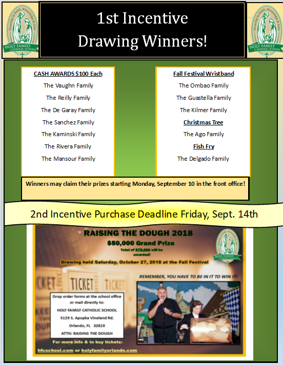 1st Incentive RTD Drawing Winners Featured Photo