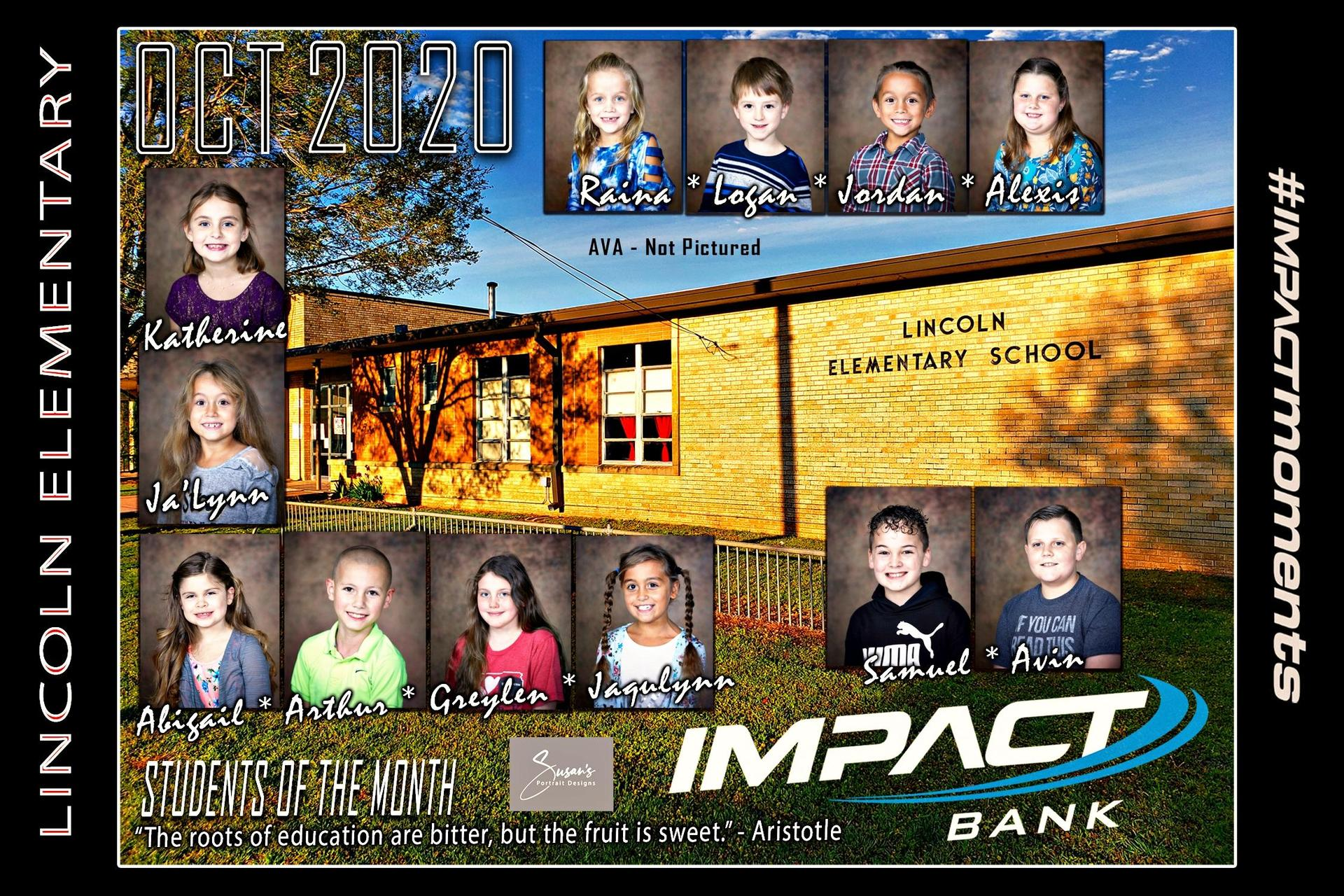October SOM's Impact Bank 2020-2021