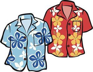 Hawaiian Day!!