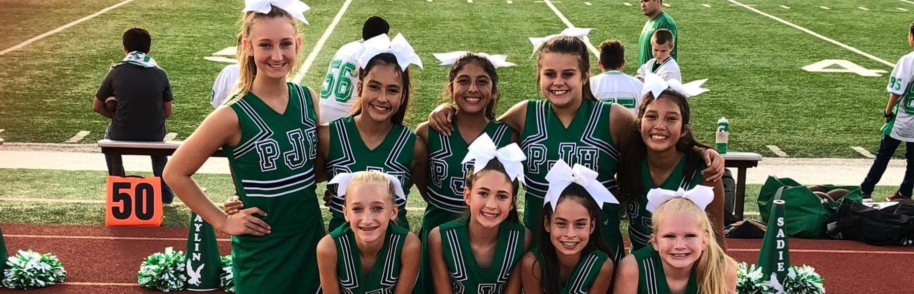 JH cheerleaders