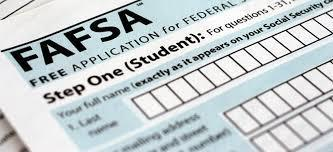 FAFSA opens up October 1st!  Make sure to create an FSA ID before then!