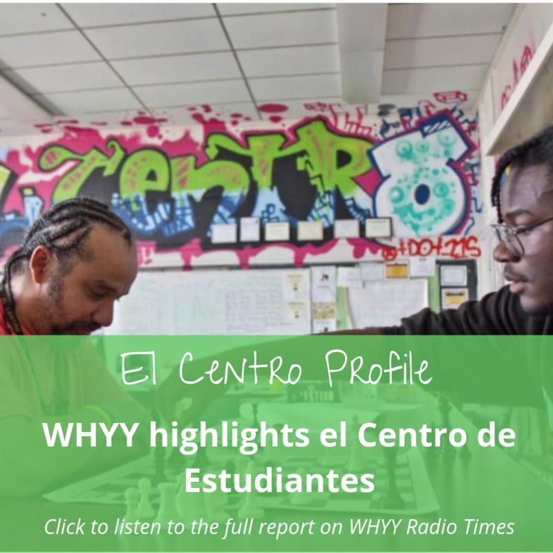 WHYY Radio Times El Centro Profile