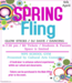 WPS Spring Fling poster