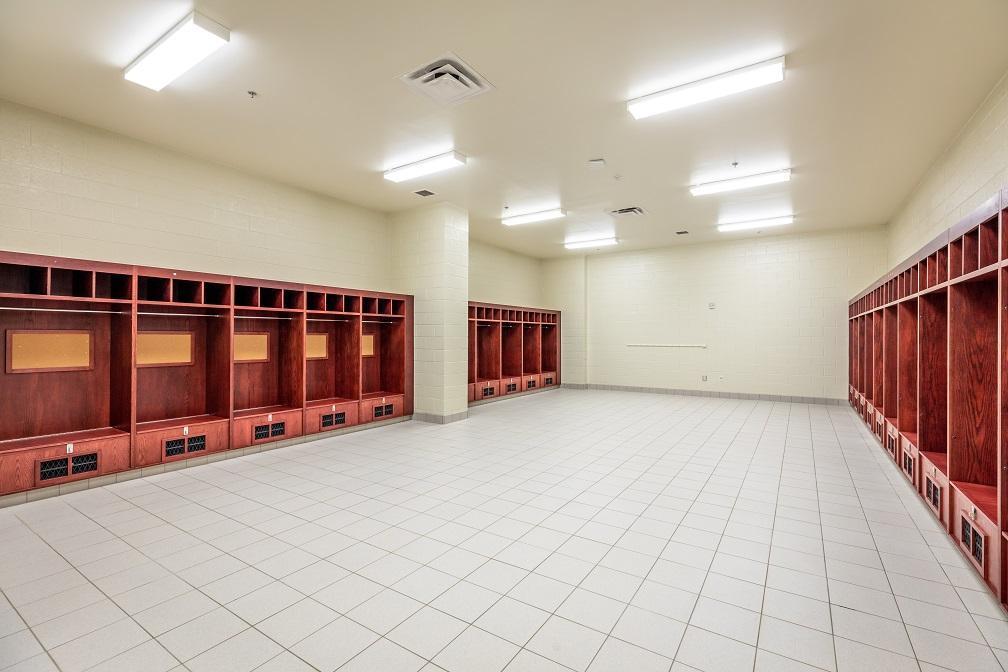 Home Side Locker Room