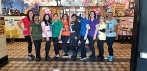 the Crayola Crayons group of teachers and staff