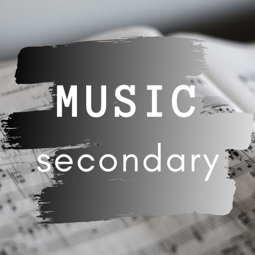 music secondary