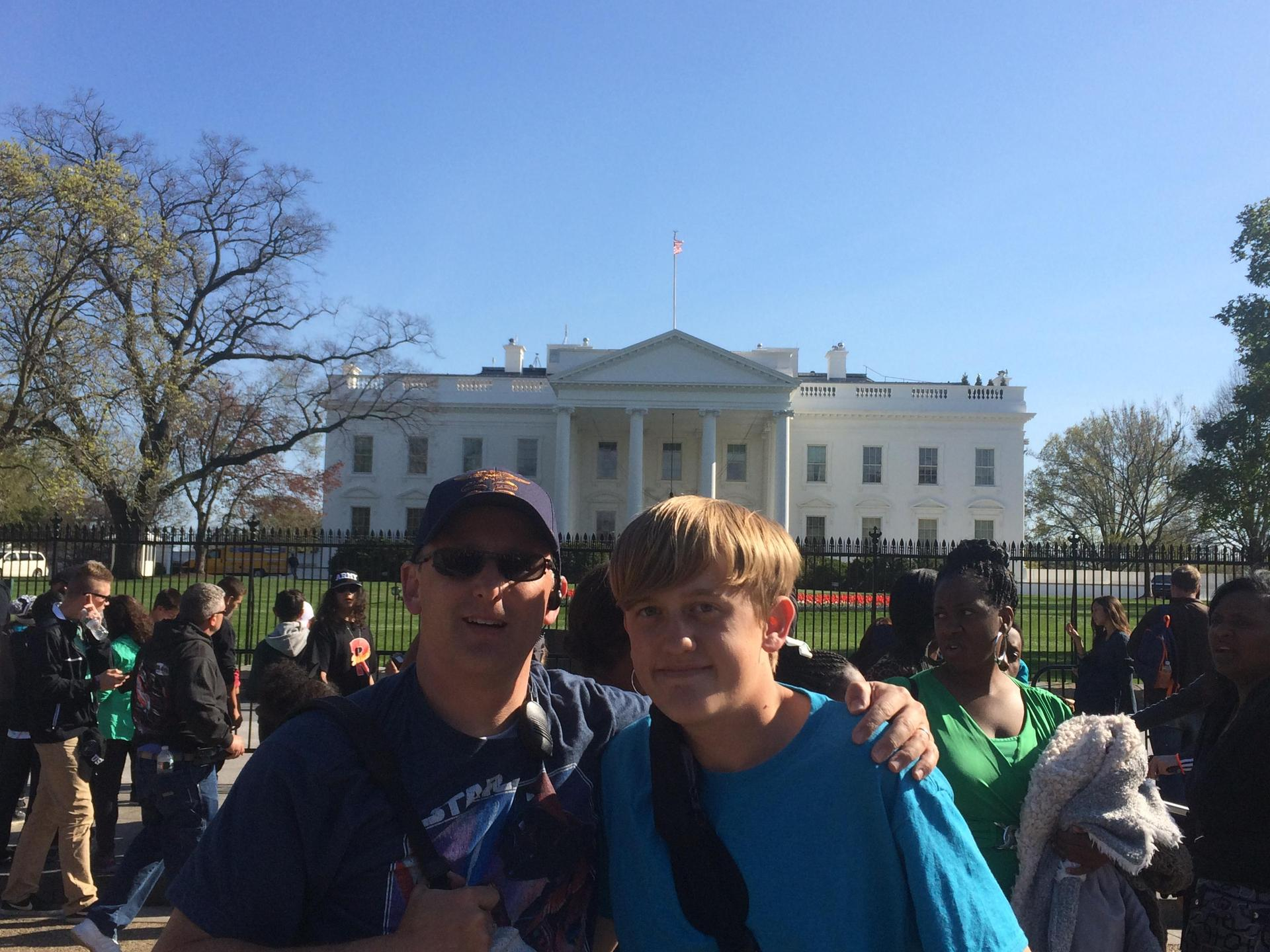 Jake and I go to the White House!