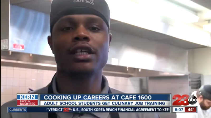 Café 1600 cooking up culinary careers Thumbnail Image