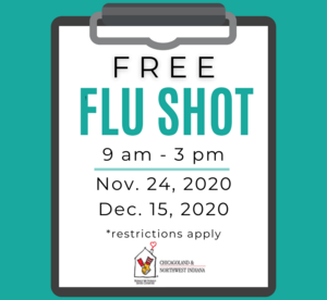 Free Flu Shot Graphic