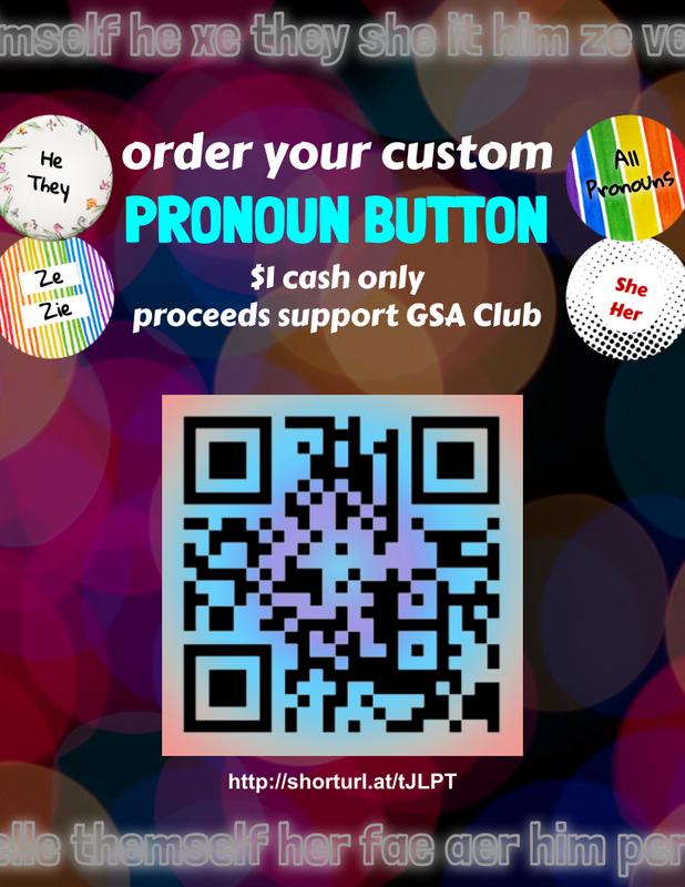 Amundsen GSA is making Custom Pronoun Buttons! Featured Photo