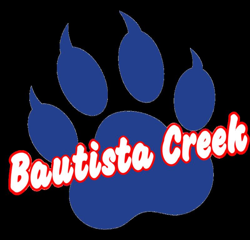 Bautista Creek Logo of a Paw