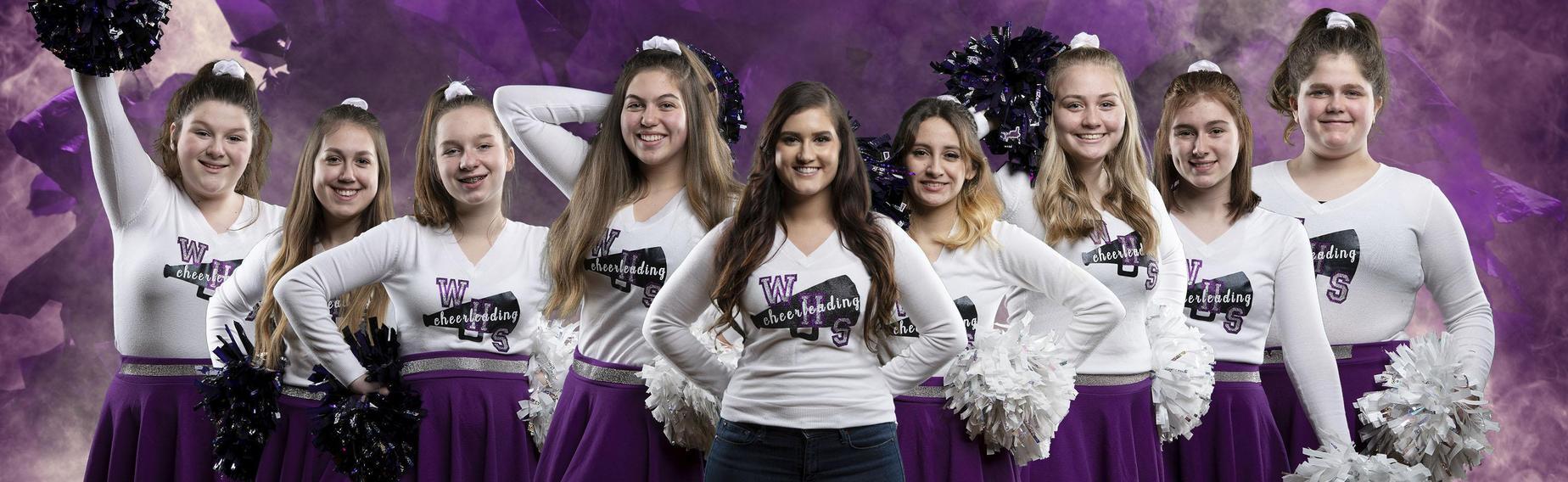 Cheerleading Team Photo