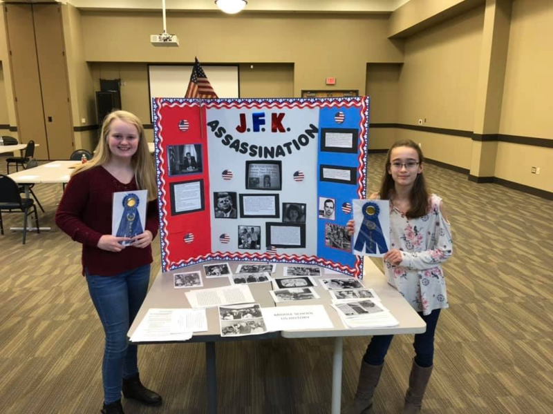 Social Studies Fair Participants