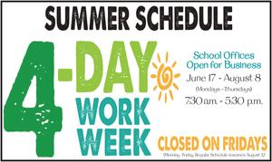 4-day work week poster