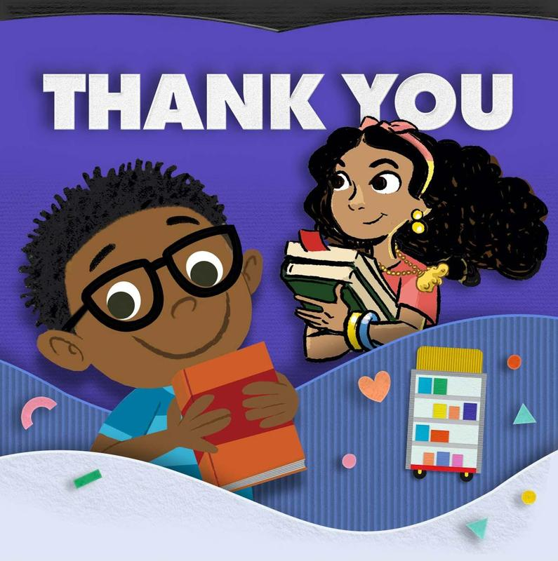 Thanks to all who supported our school through the Scholastic Book Fair! Featured Photo