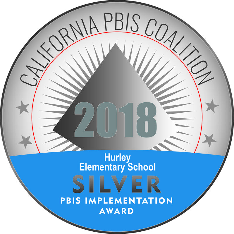 Hurley receives Silver Recognition from CA PBIS Coalition Featured Photo