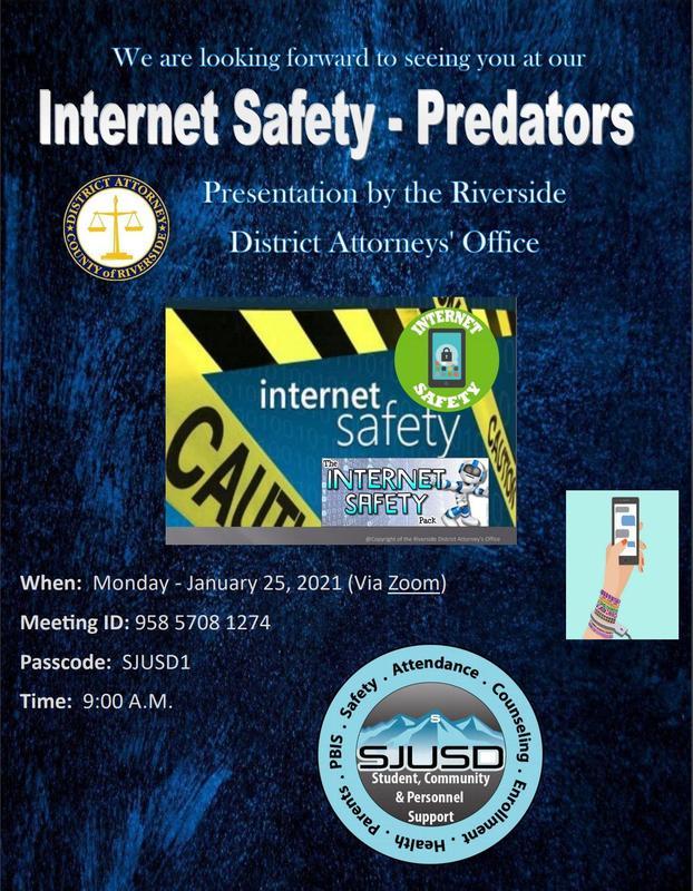 Internet Safety Flier