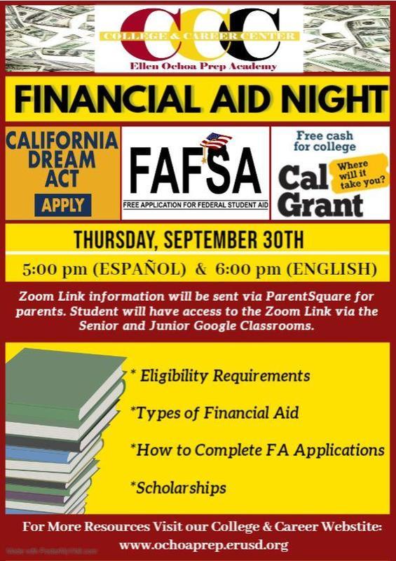 Virtual Financial Aid Night Featured Photo