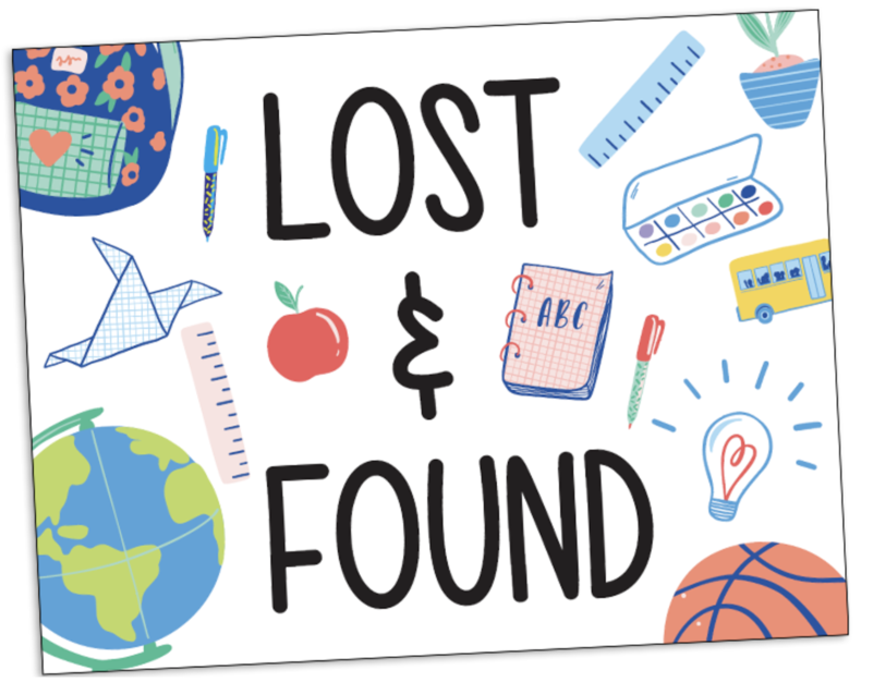 Lincoln Elementary Lost & Found Featured Photo