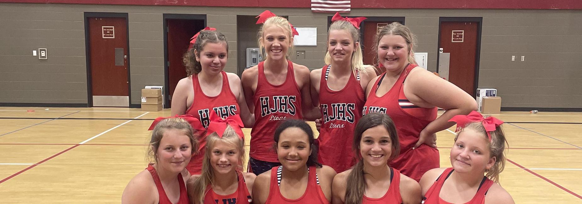 Jr. High Cheer Team