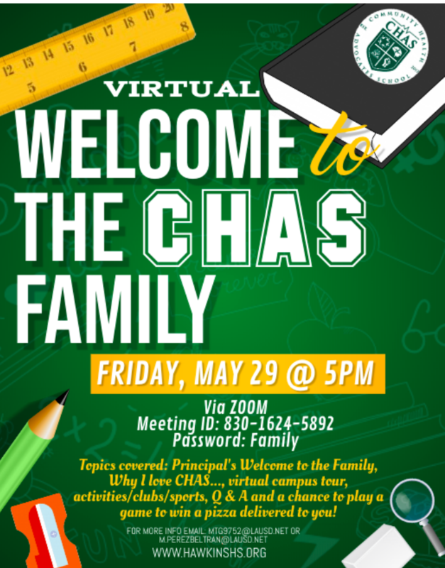 Welcome to CHAS Event Featured Photo