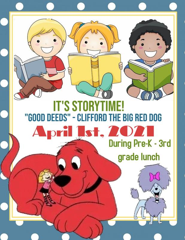 Story Time With Clifford Featured Photo