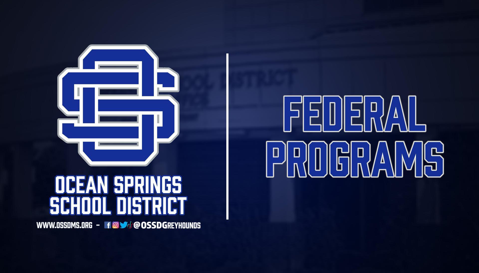 Federal Programs Header