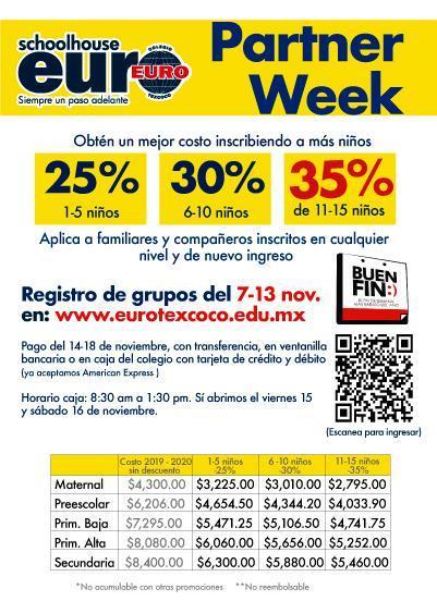 PARTNER WEEK.  APROVECHA EL BUEN FIN Featured Photo