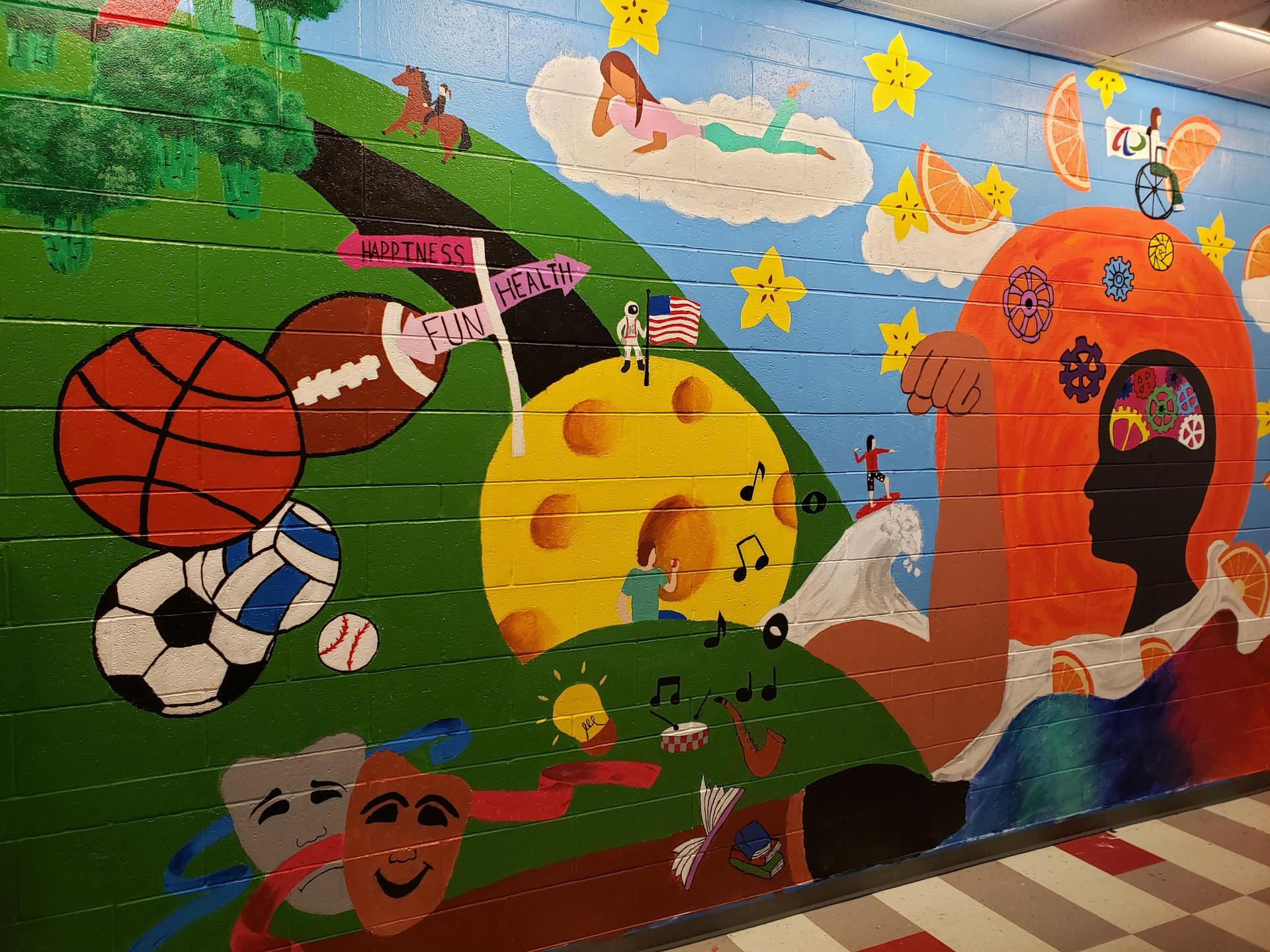 Healthy Mural