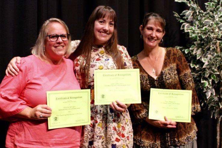 Congrats to Teacher and Staff Members of the Year Featured Photo