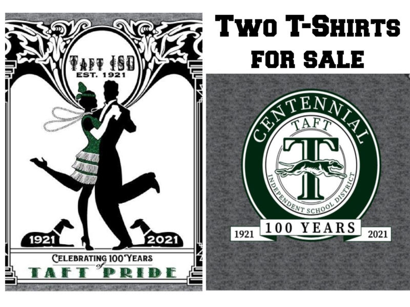SHOW YOUR TAFT PRIDE and CELEBRATE OUR CENTENNIAL! Featured Photo