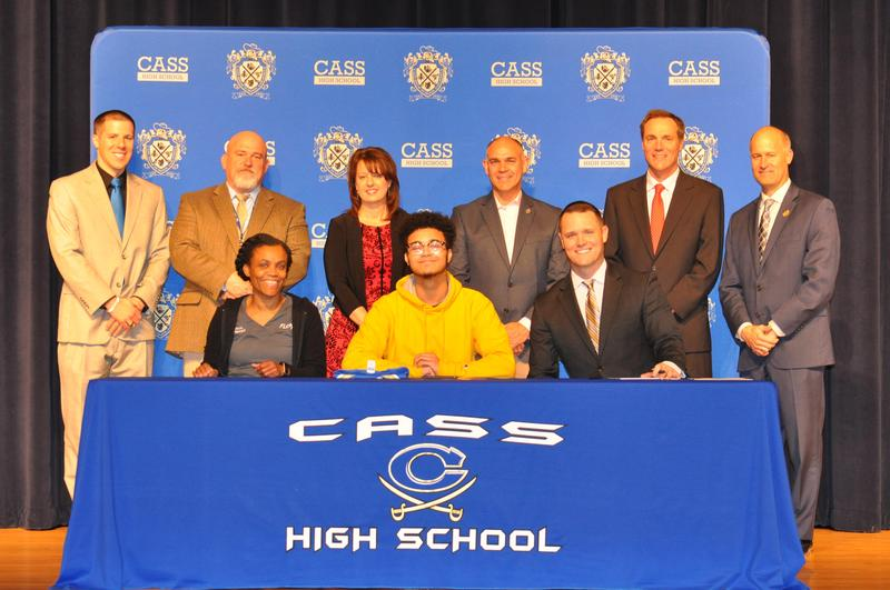 Cybersecurity ceremony at Cass High School