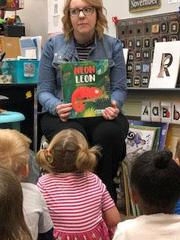 Miss Courtnei came to visit our classroom. She read us 2 fantastic stories and taught us 2 new songs. The children loved listening to her read to them. She is very engaging and great with young children.