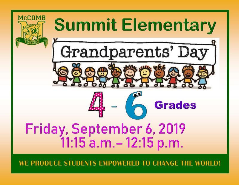 Summit Elementary Grandparents' Day 4-6 grade 2019
