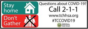 Questions about COVID-19- call 211
