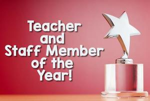 teacher and staff member of the year