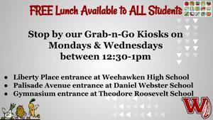 Lunch Kiosk Information