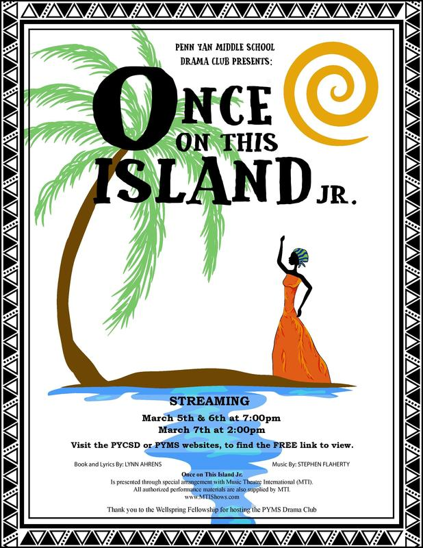 Middle School Production - Once on This Island JR Featured Photo
