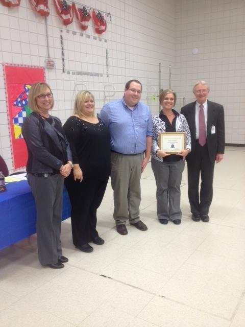 Keys of Excellence Award presented to Angie Westfall