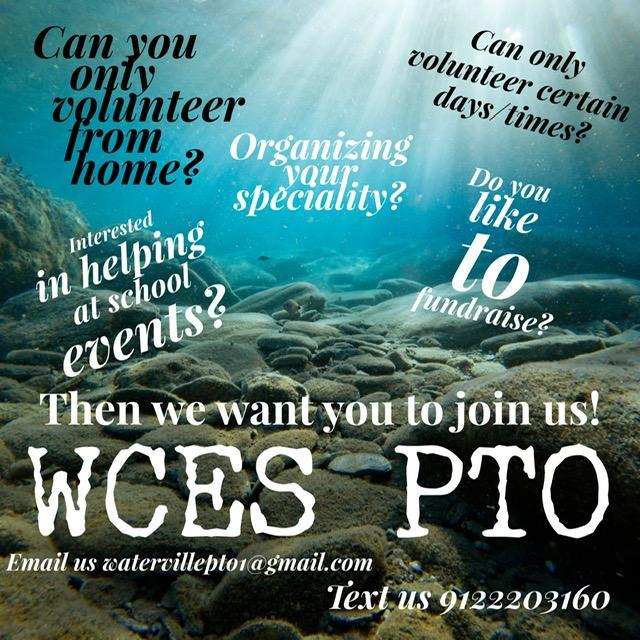 PTO volunteers needed