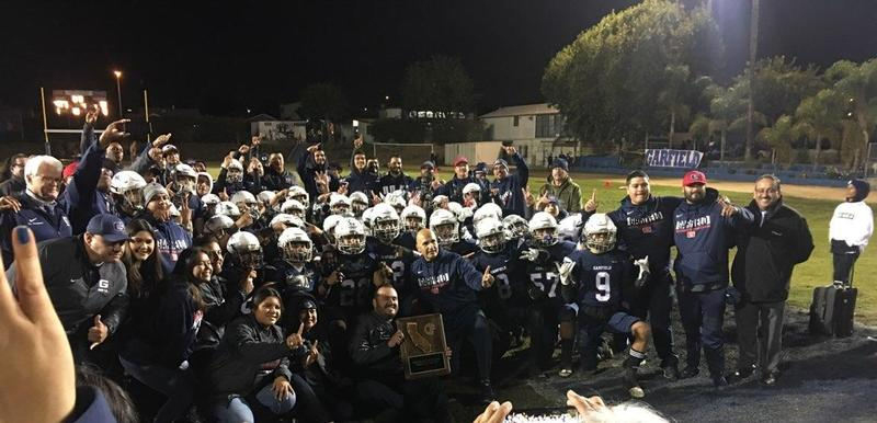Garfield is the CIF Southern Section Division 4-A Champion! Featured Photo