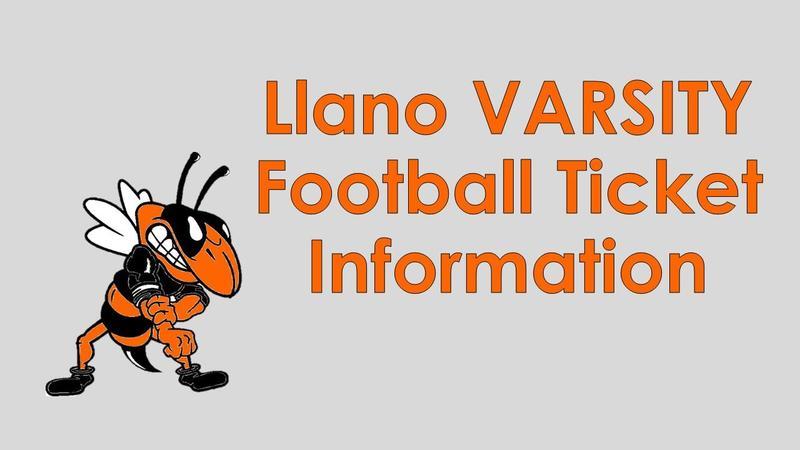 Llano VARSITY Football Information Featured Photo