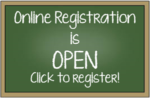 Registration for 2020-2021 school year now open online! Featured Photo
