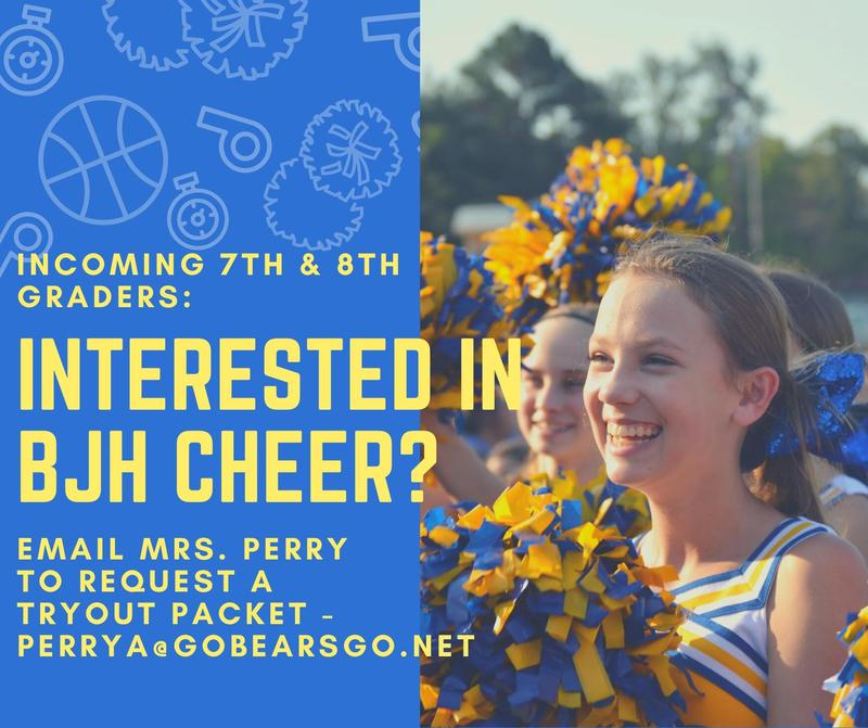 BJH Cheer tryout information Featured Photo