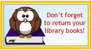 Please return your library books Featured Photo