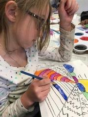 Painting with lines