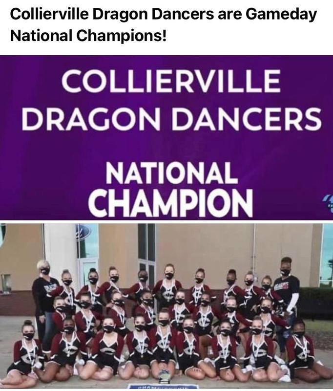 Collierville Dragon Dancers are Gameday National Champions! Featured Photo