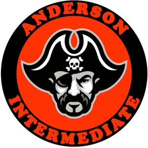 pirate logo for Anderson Intermediate School