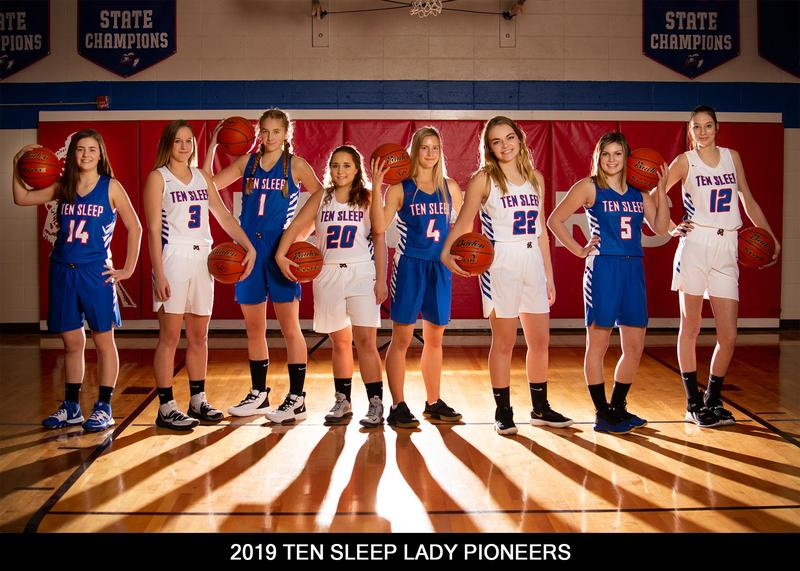 Good Luck Lady Pioneers! Thumbnail Image